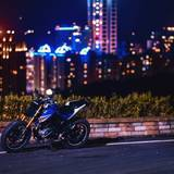 Street Race Motorcycle Night City 4k Wallpapers