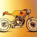 Motorcycle Sketches Wallpapers