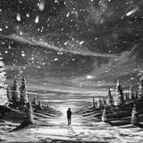 Anime Scenery White And Black Wallpapers