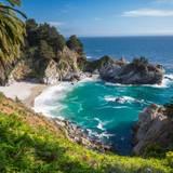 McWay Waterfall Big Sur California Wallpapers