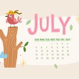 July 2021 Calendar Wallpapers
