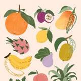2D Fruit Wallpapers