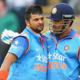 Suresh Raina And MS Dhoni Wallpapers