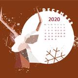 December 2020 Calendar Wallpapers