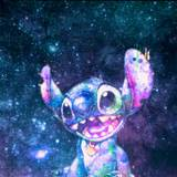 Stitch Galaxy Wallpapers