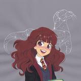 Hermione Cartoon Wallpapers