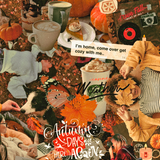 Autumn Collage Phone Wallpapers