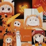 Orange Aesthetic Anime Wallpapers