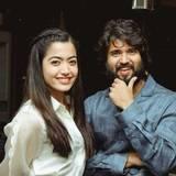 Rashmika Mandanna And Vijay Wallpapers