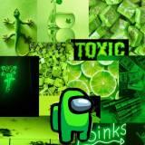 Among Us Green Cool Wallpapers