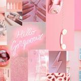 Retro Pink Aesthetic Desktop Wallpapers
