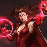 Scarlet Witch Comic Desktop Wallpapers