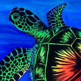 Neon Turtle Wallpapers