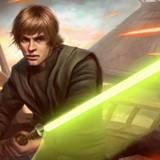 Luke Skywalker Green Lightsaber Desktop Wallpapers