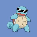 Squirtle With Sunglasses Wallpapers