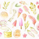 Watercolor Summer Wallpapers