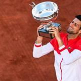 Novak Djokovic Roland Garros Champion 2021 Wallpapers