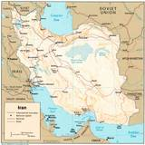 Iran Map Wallpapers