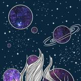 Space Woman IPhone Wallpapers